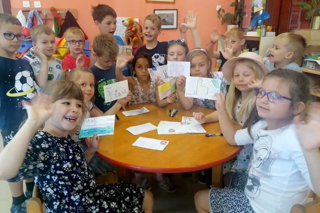 Mališani izradili razglednice za rođendan Općine Novigrad Podravski