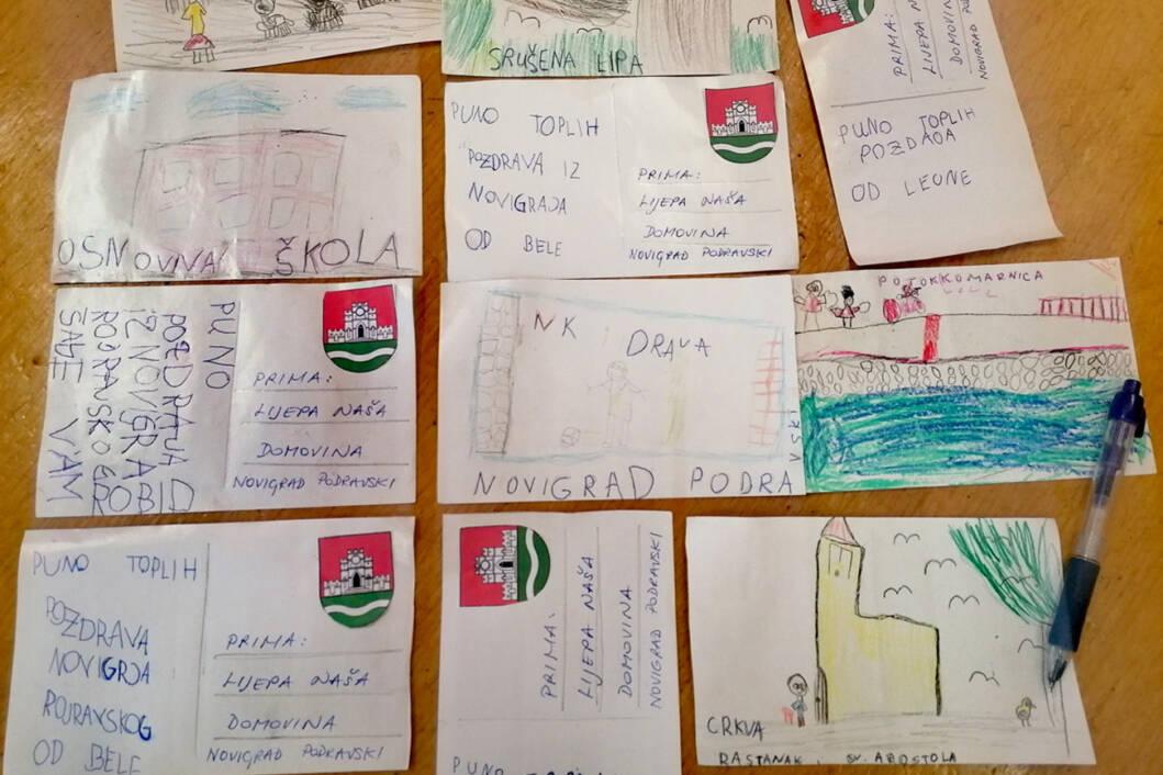Razglednice za rođendan Općine Novigrad Podravski