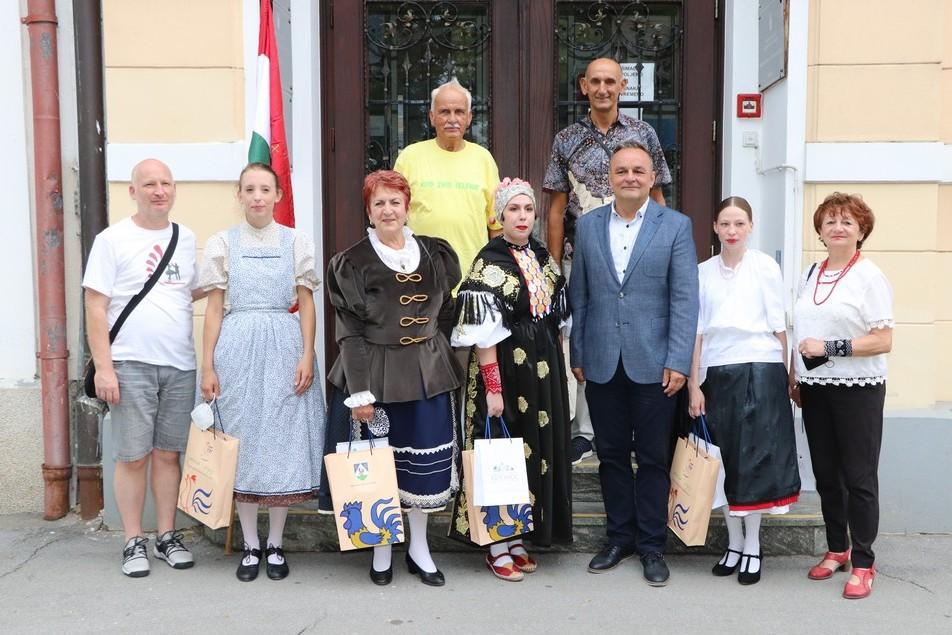 Prijem za sudionike Međunarodnog festivala folklora 'Iz bakine škrinje'