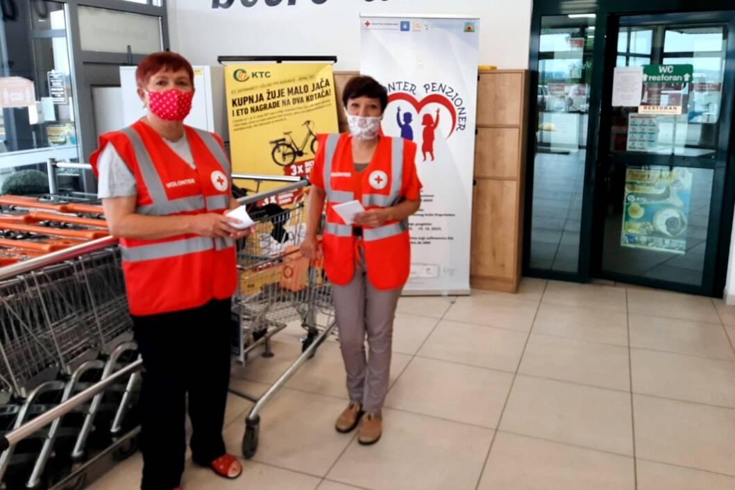 Prikupljanje donacija za Socijalnu samoposlugu