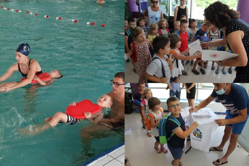 Mališani na edukaciji na koprivničkim bazenima