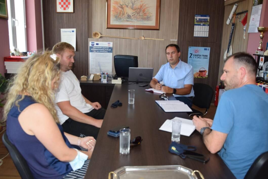 Radni sastanak u Legradu
