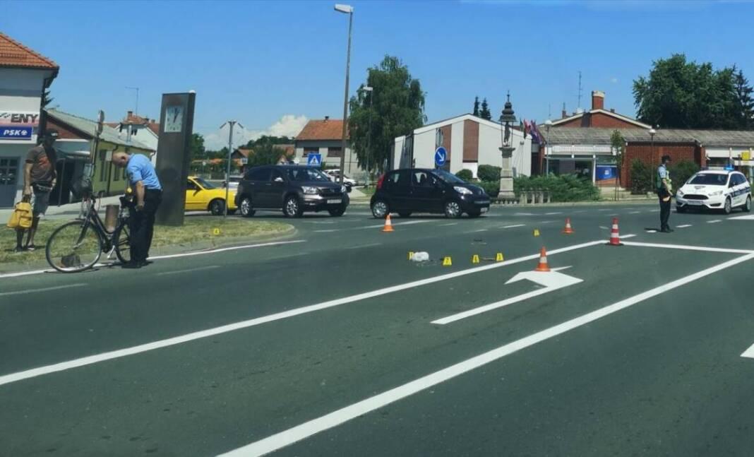 Policijski očevid na mjestu nesreće