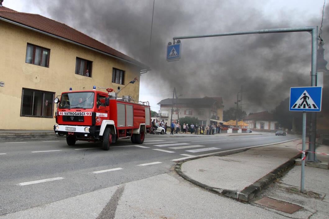 Vatrogasna vježba u Novigradu Podravskom