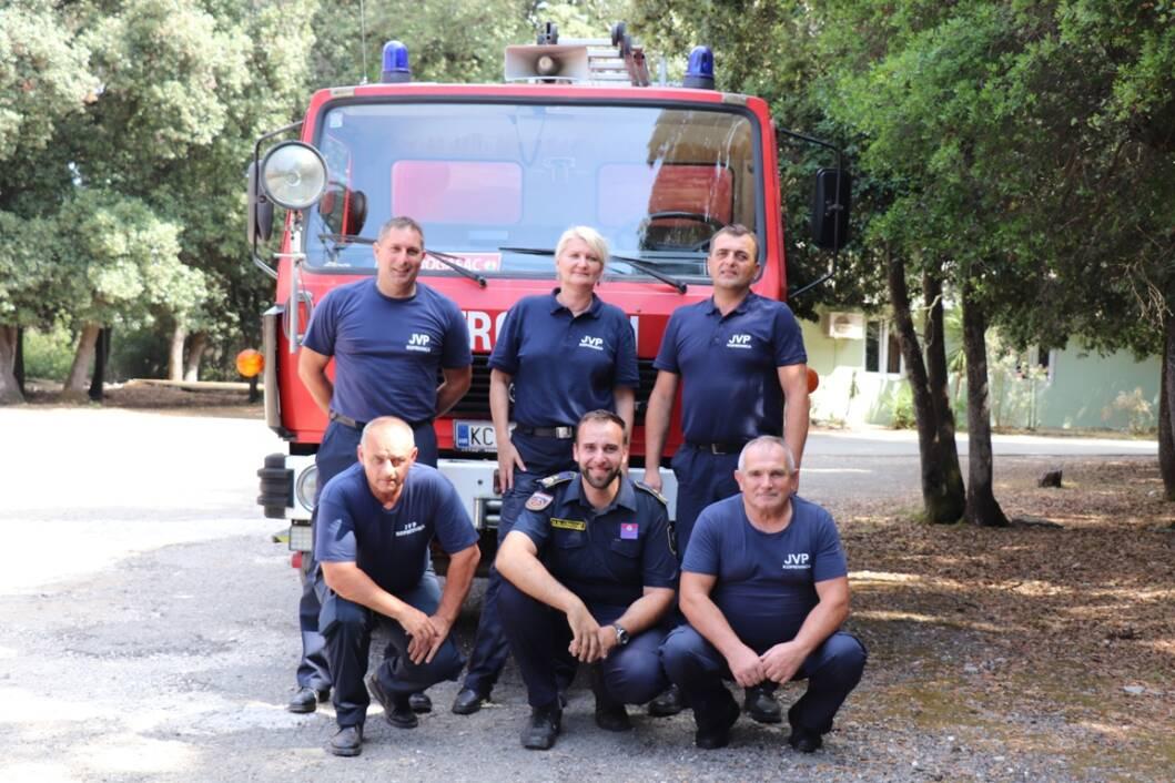 Vatrogasci na Brijunima