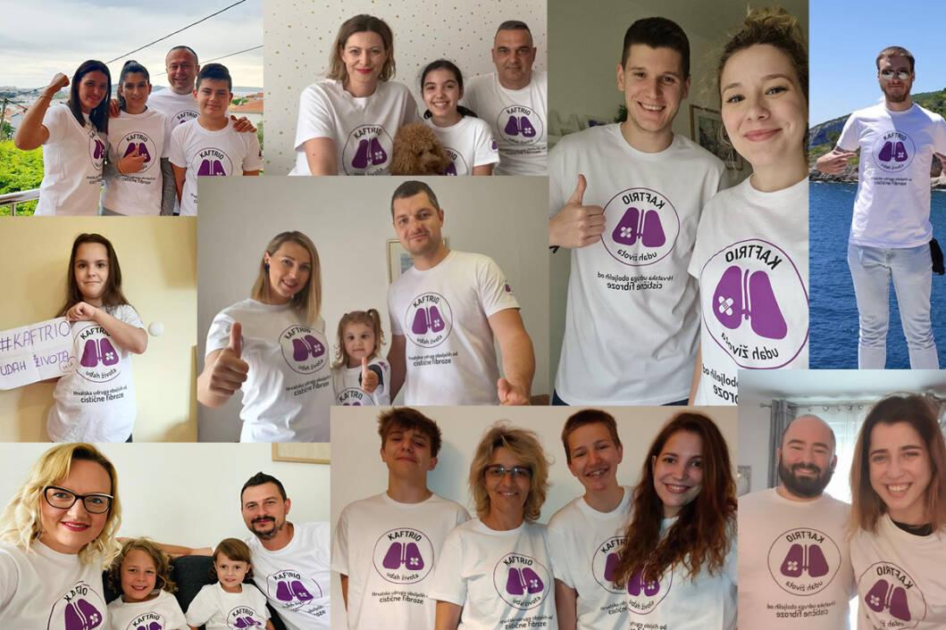 Članovi Hrvatske udruge oboljelih od cistične fibroze