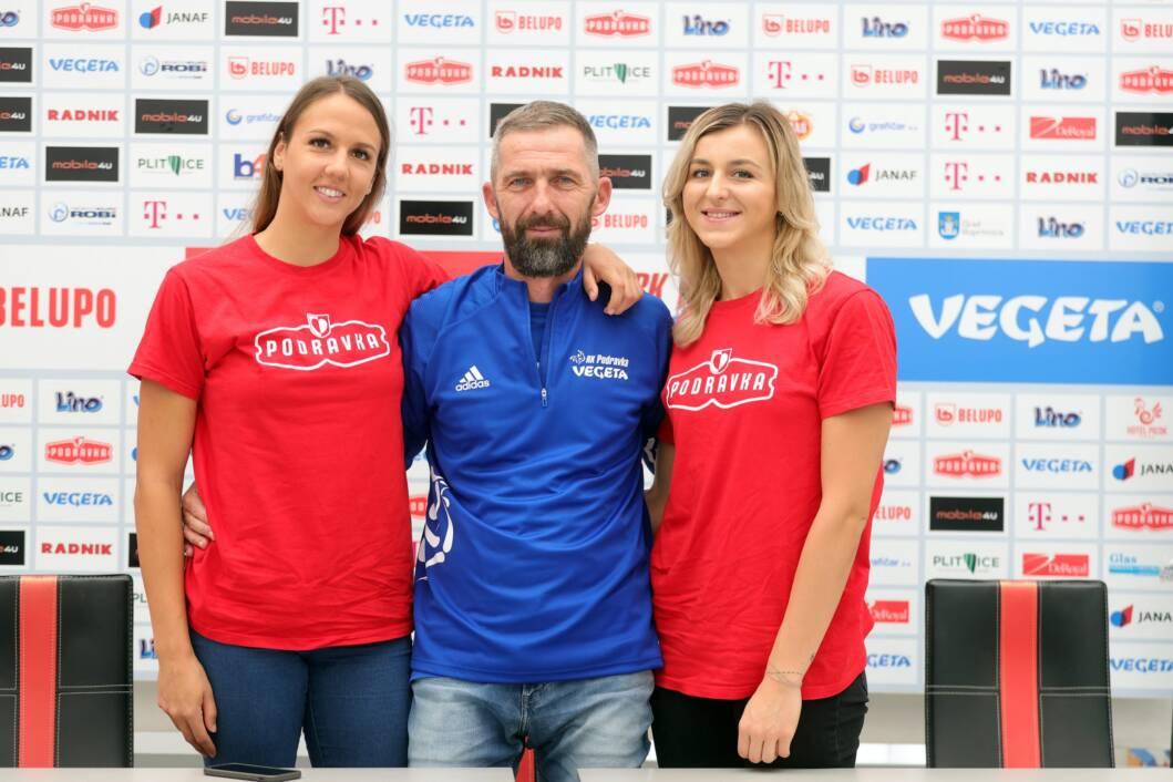 Bojana Milić, Neven Hrupec i Julija Dumanska