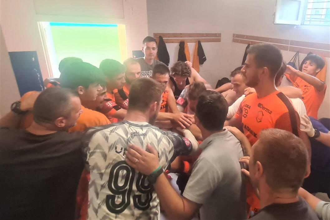 Slavlje nogometaša Varaždina