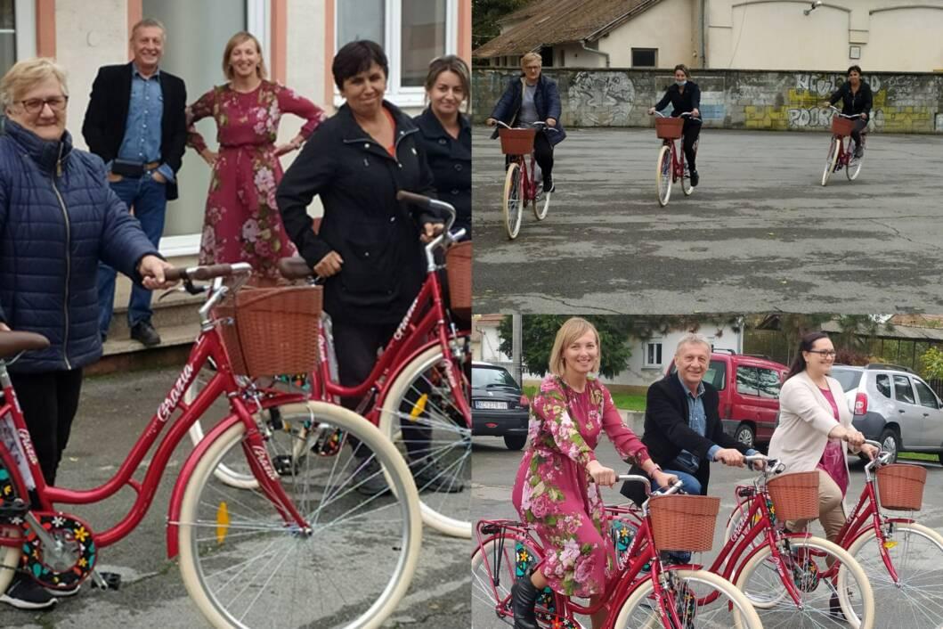 Novi bicikli za gerontodomaćice